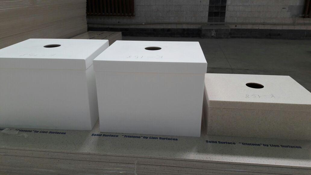 Глубокие квадратные мойки на заказ