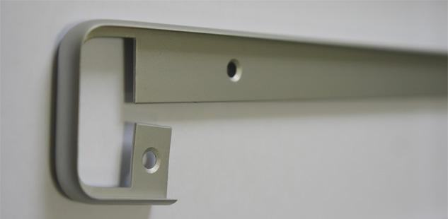 Алюминиевые торцевые и стыковочные профили для столешниц