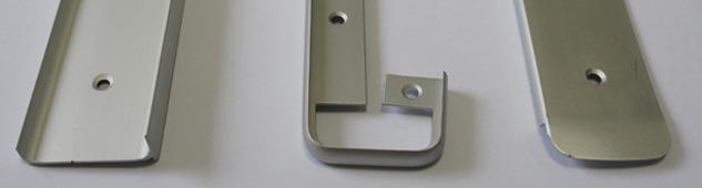 Алюминиевые торцевые и стыковочные